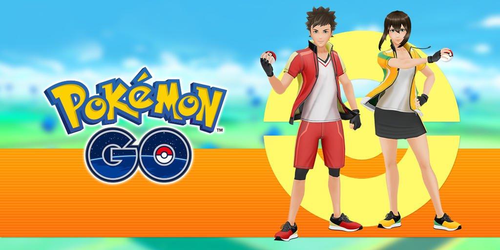 Gym Leader Clothing Items Added Pokemon Go Hub