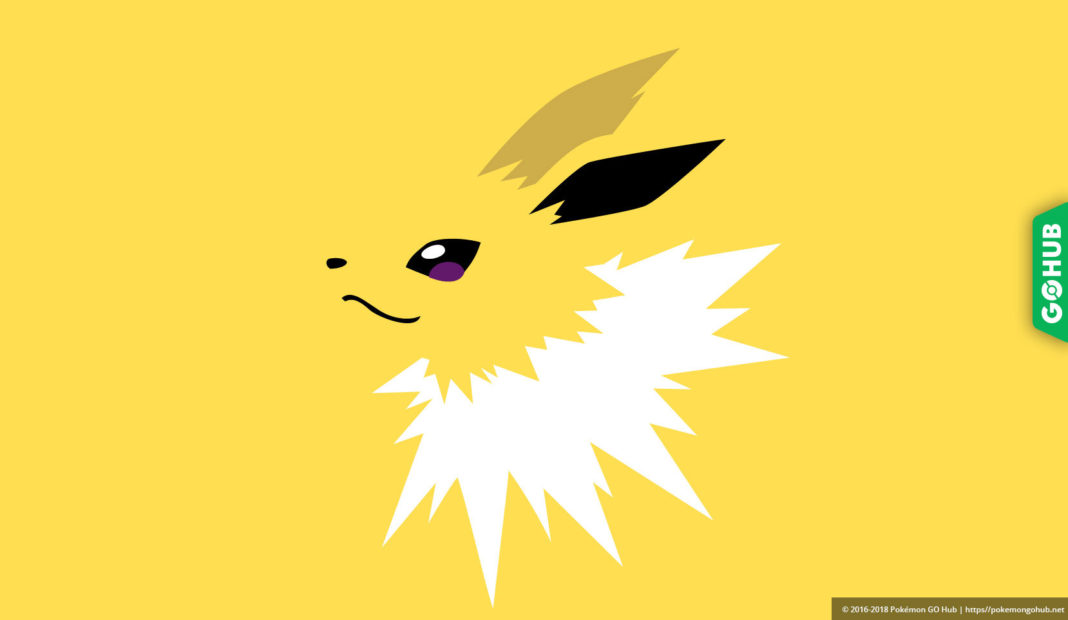 jolteon pokemon go raid