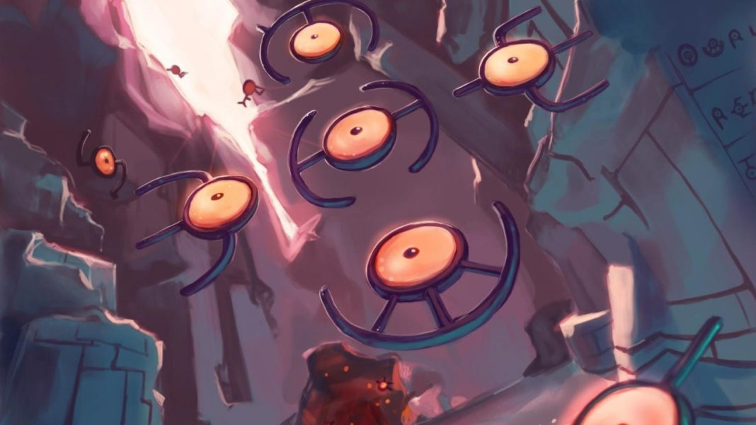 Unown wallpaper, artist also unown