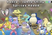 Kanto and Johto Shiny