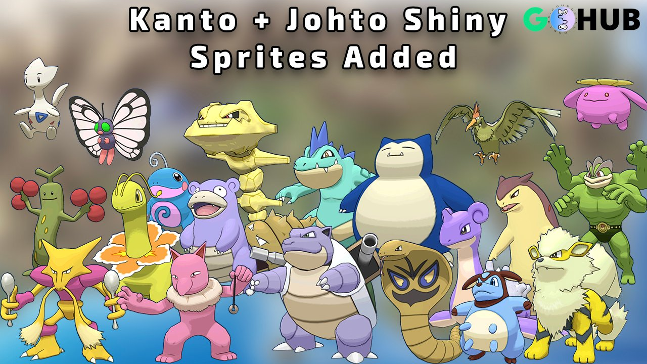 Kanto And Johto Shiny Sprites Confirmed In The Network Traffic