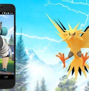 Zapdos Pokémon GO