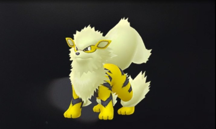 Shiny Arcanine Pokemon GO