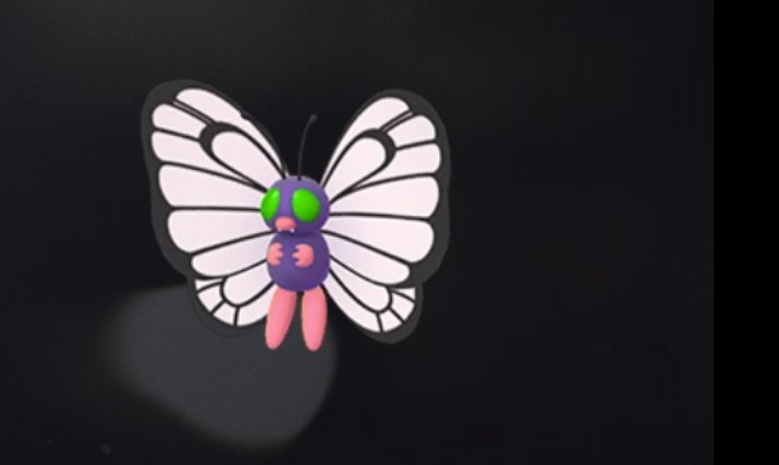 Shiny Butterfree Pokemon GO