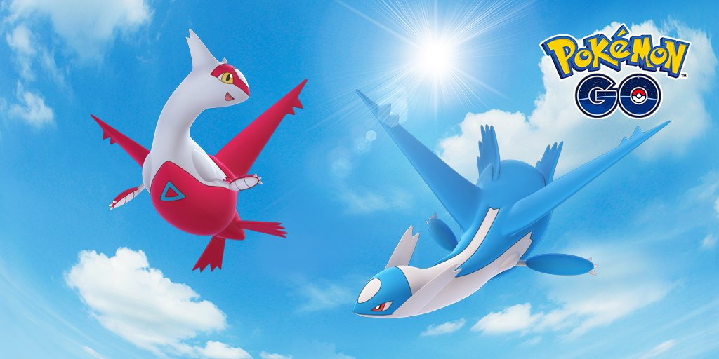Latios and Latias Pokemon GO Raid