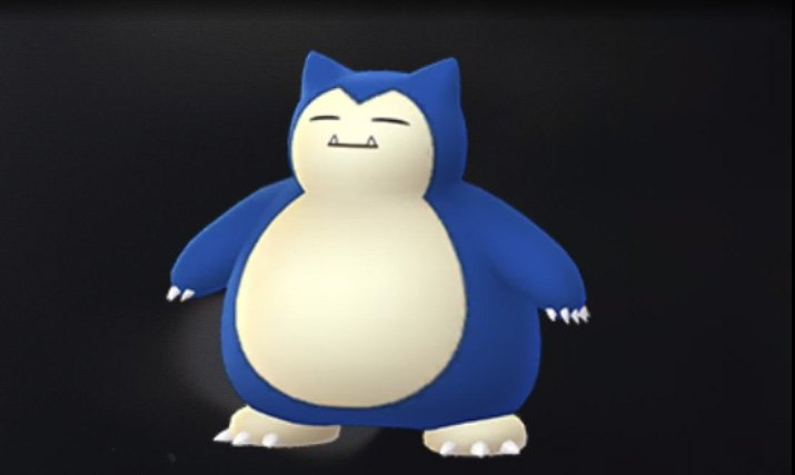 shiny snorlax pokemon go