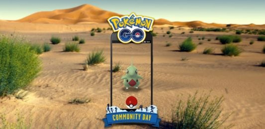 Larvitar Community Day