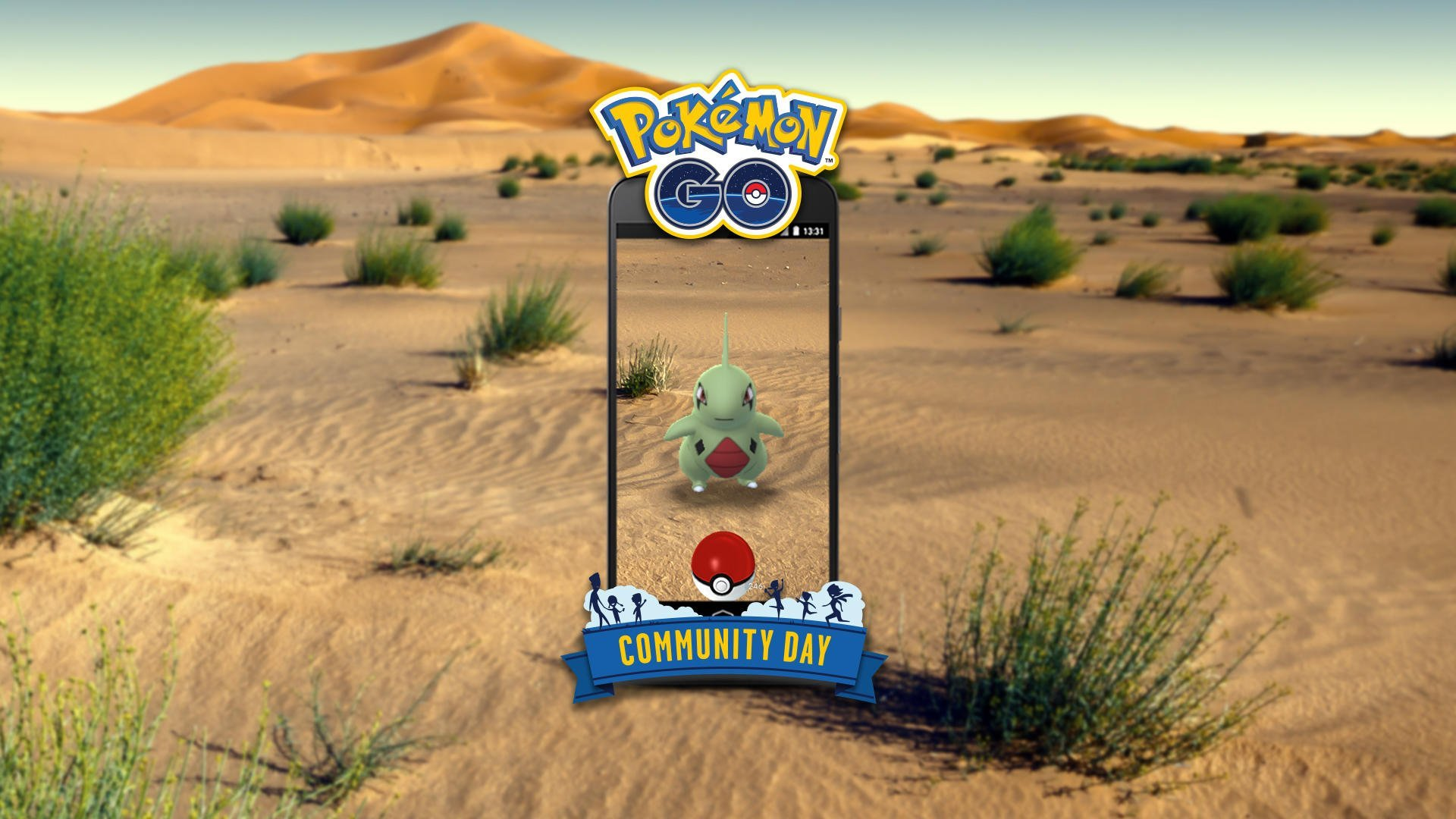 Larvitar Community Day