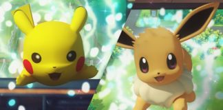 Let's GO Pikachu and Eevee