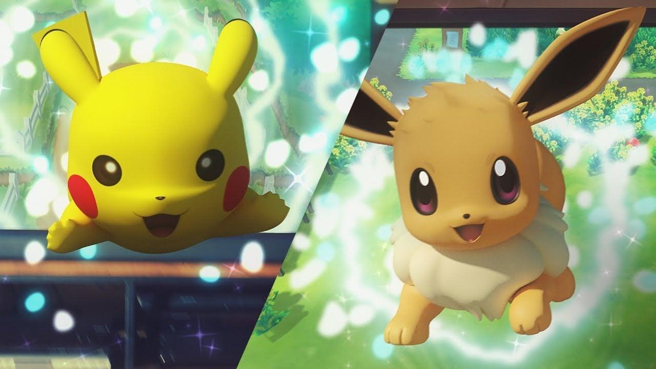 Mega evolutions return in Pokemon Let's Go, Pikachu! and