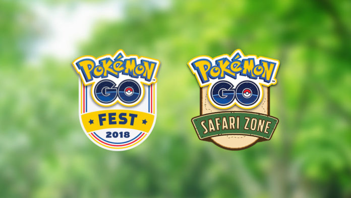 Pokémon GO Fest and Safari Zone 2018