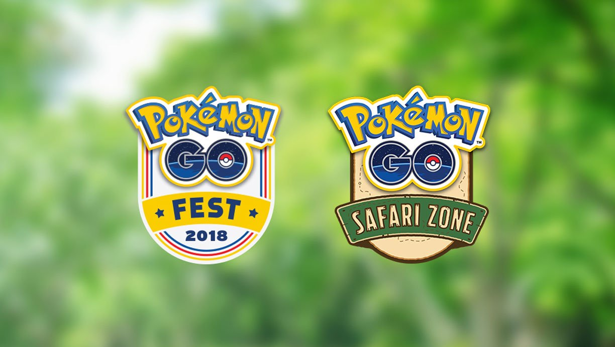 Pokemon GO Fest Returning in July; New Safari Zone Event Announced