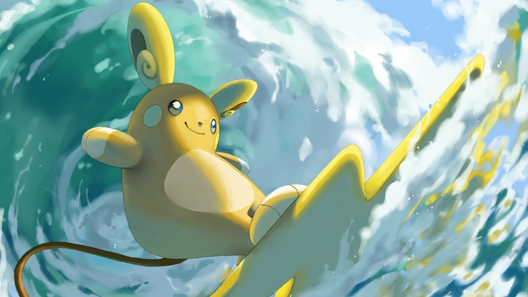 Alola Raichu Wallpaper