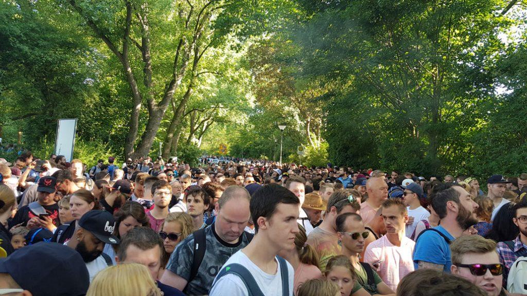Dortmund Safari Zone Crowd