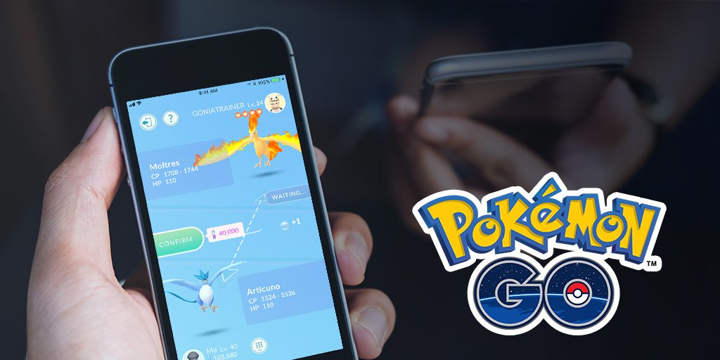 Pokemon Go is finally letting you trade with friends