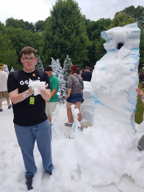 Glacial habitat and Bedel, GO Fest