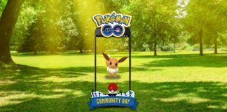 Eevee community day