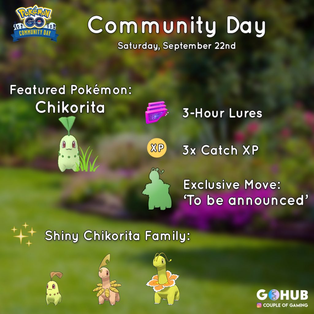Chickorita Community Day