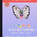 Pokemon GO Shiny Butterfree