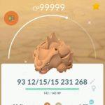 Pokemon GO Shiny Rhydon