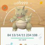 Pokemon GO Shiny Rhyhorn