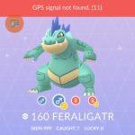 Pokemon GO Shiny Feraligatr