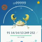 Pokemon GO Shiny Kraby
