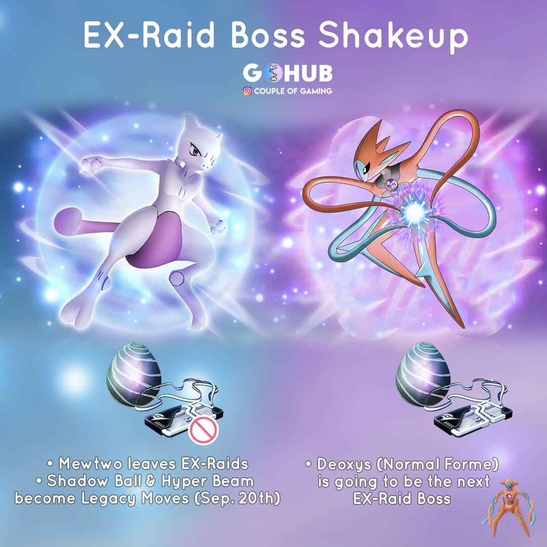 EX Raid shakeup