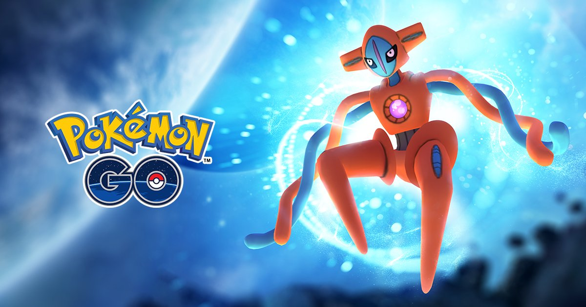 Deoxys stats, moves and catch rate updated in Pokemon GO Game Master