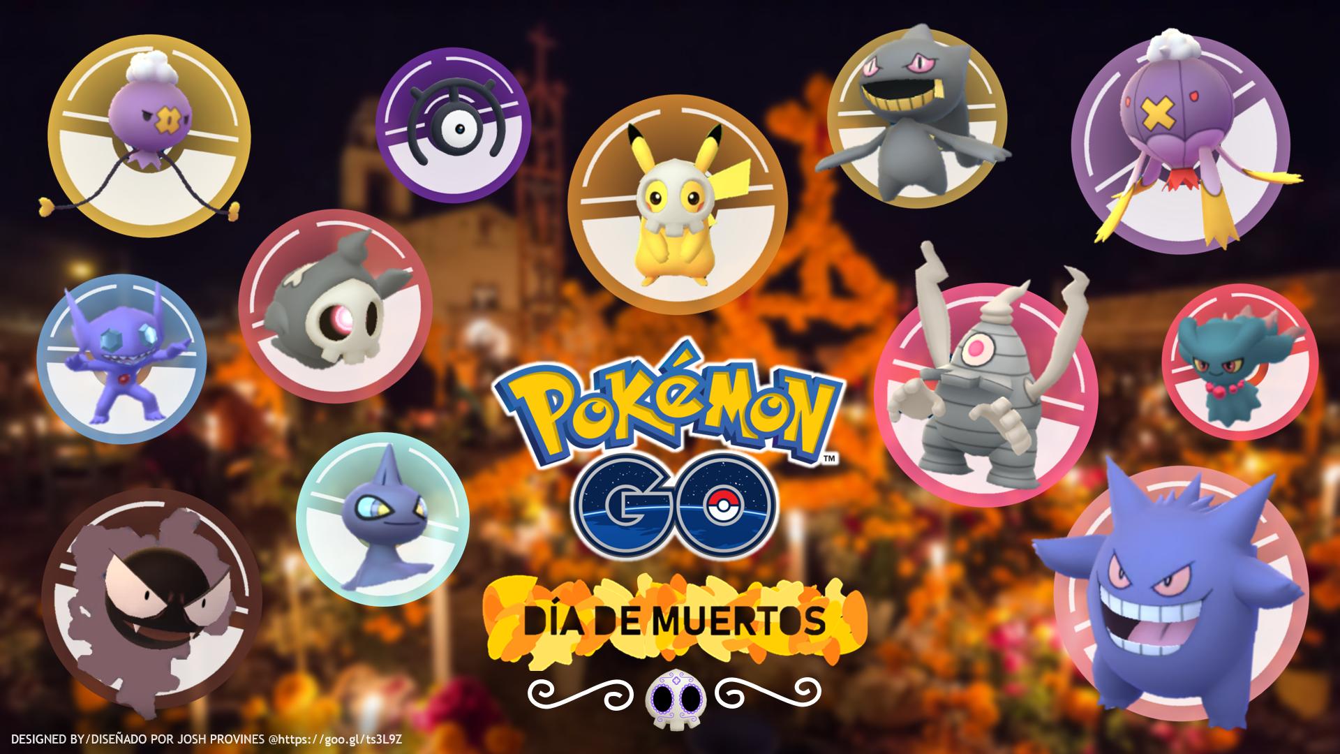 Conceptual Event Día De Muertos Pokémon Go Hub
