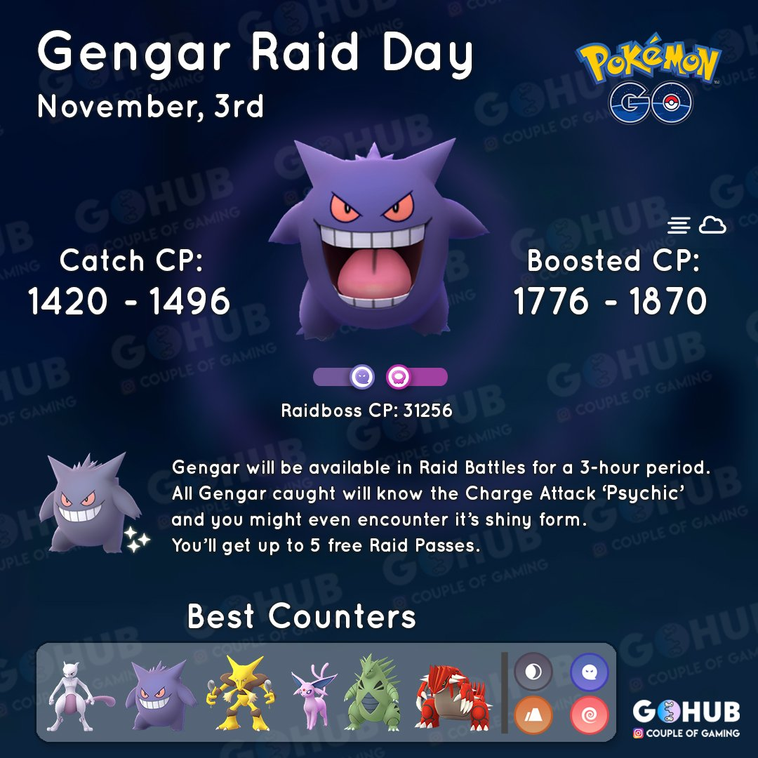 Gengar Day | Pokemon GO Hub