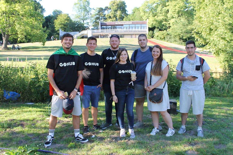 GO Hub Team at Safari Zone 2018