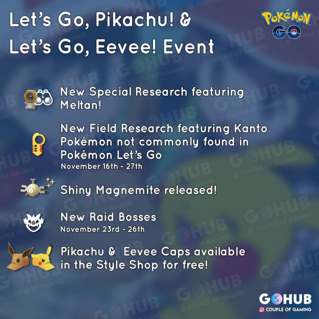 LGP Event in Pokemon GO