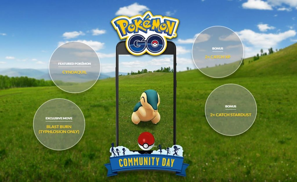 Cyndaquil Community Day bonuses