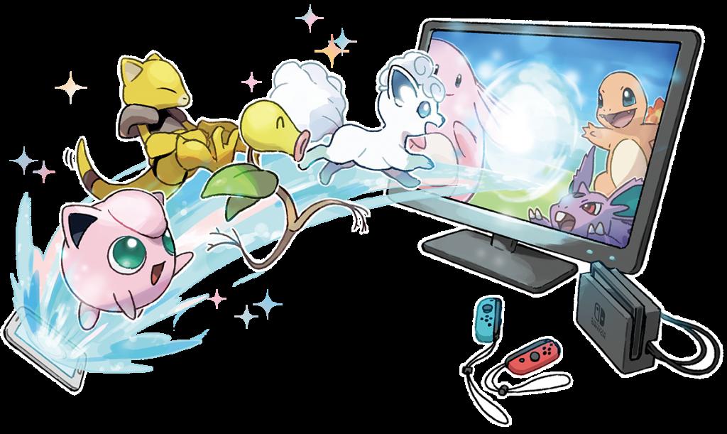 GO Park (Pokemon GO and Pokemon Let's Go! integration)