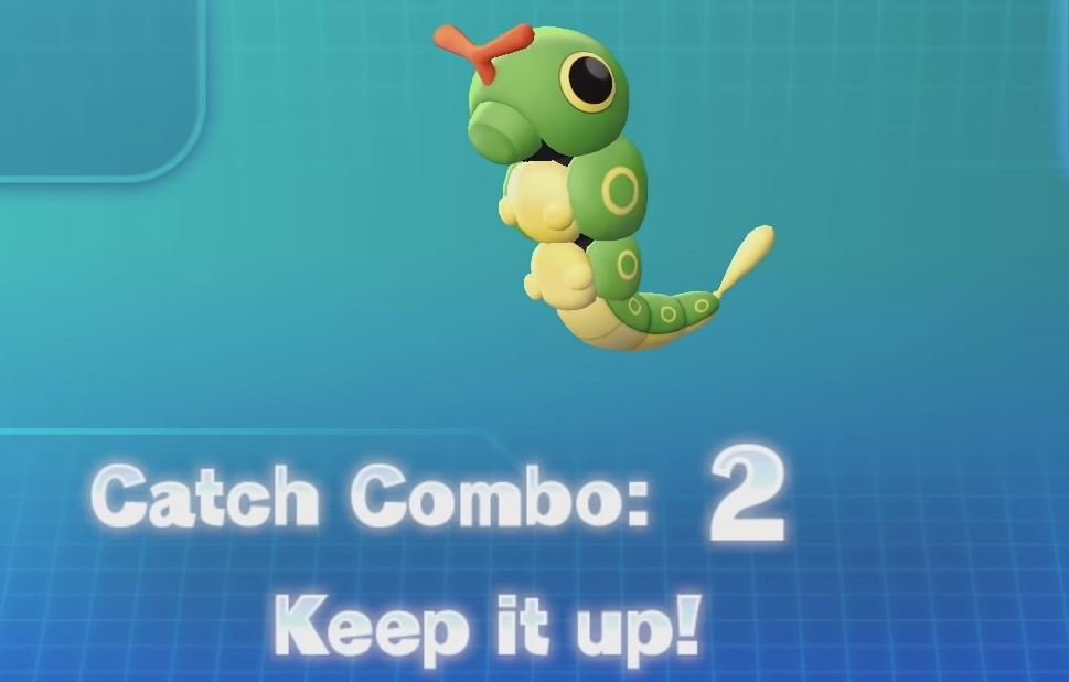 Pokemon Let's Go catch combo