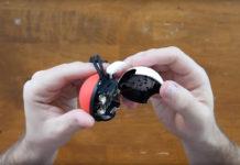 Poke Ball Plus battery, tear down