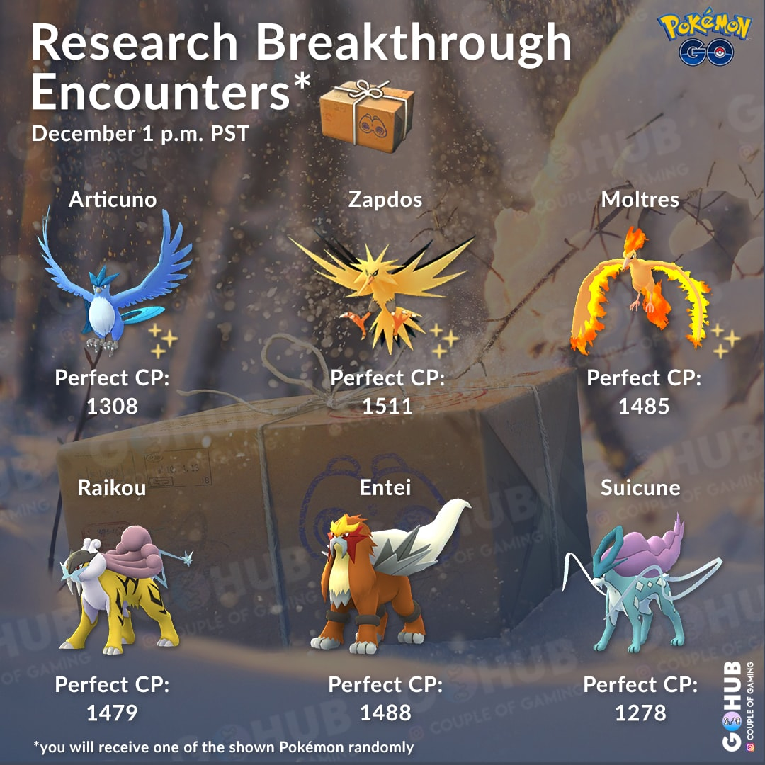 new research pokemon go