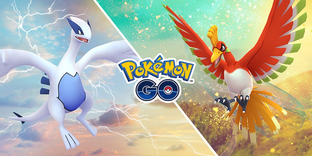 Lugia and Ho-Oh raids are coming back this weekend