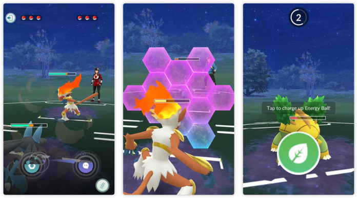 Pokemon GO PvP: second charge move, charge up, protect shield