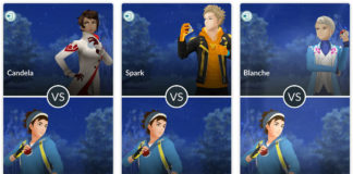 Pokemon GO PvP: battle against Team Leaders
