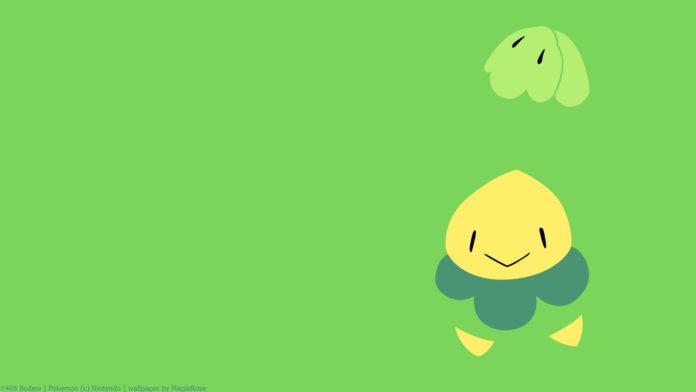 39aa9e09c70 Pokémon GO Budew is a Grass and Poison type Pokémon