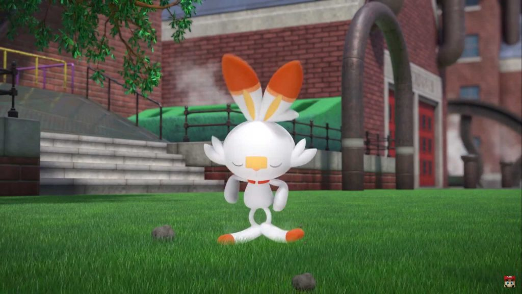 Pokémon Sword and Shield Scorbunny