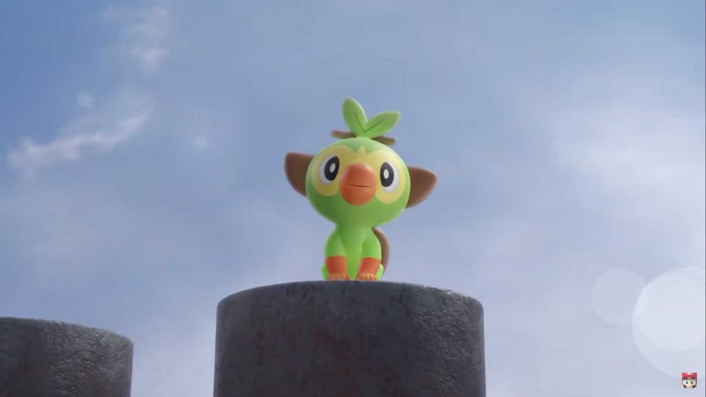 Pokémon Sword and Shield Grookey