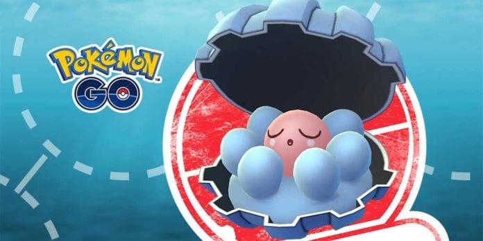 Pokemon GO Clamperl
