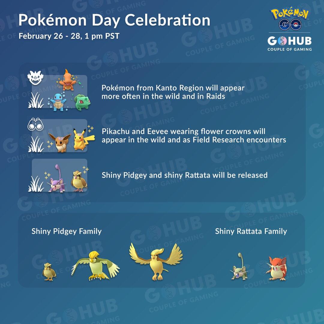 Pokémon Day Celebration Event 2019 Guide | Pokemon GO Hub