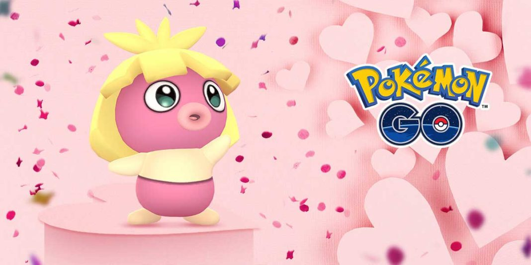 Pokemon GO Valentine's Day 2019