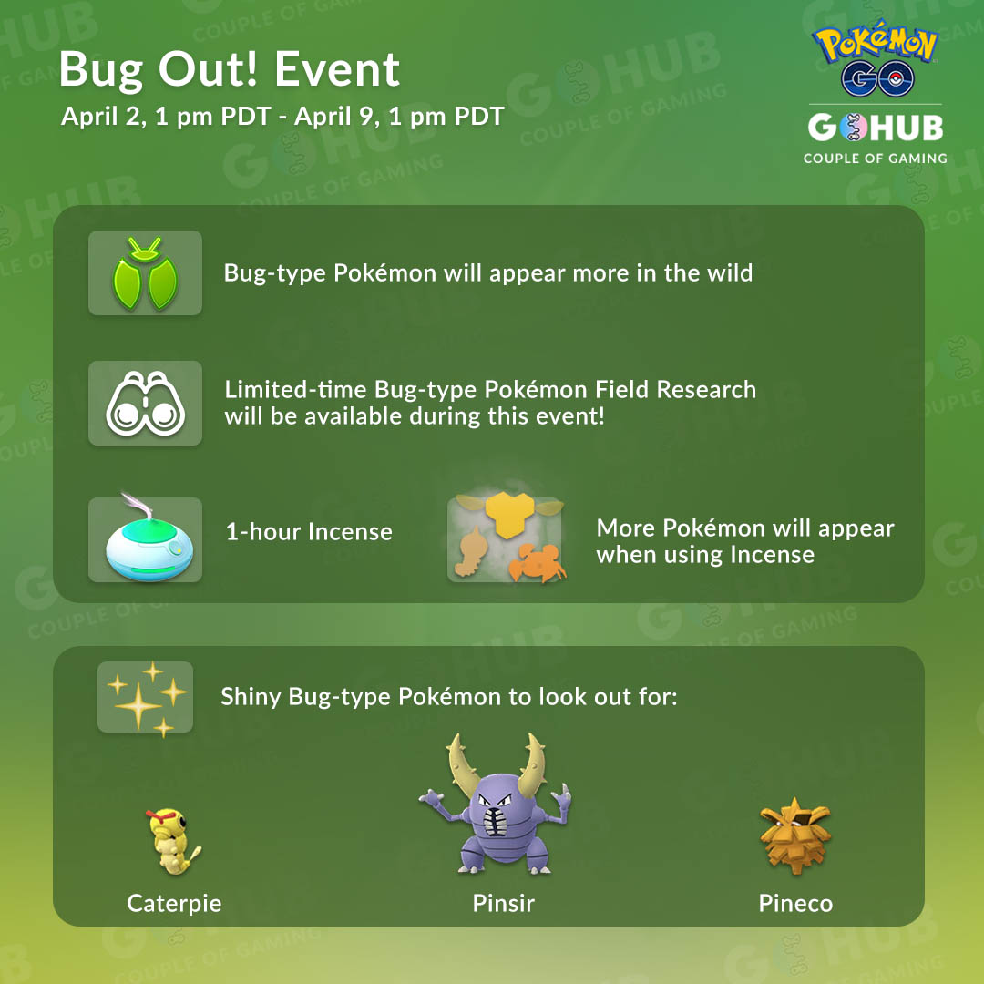 Bug Out! Event Infographic