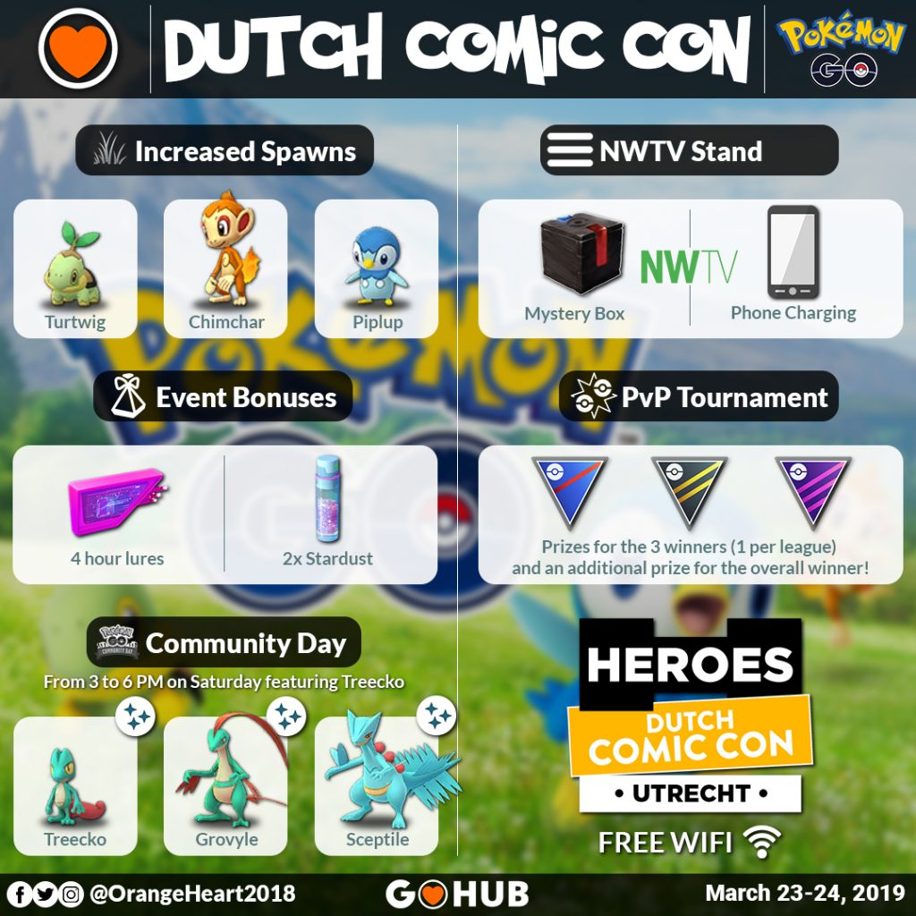 Dutch Comic Con Graphic
