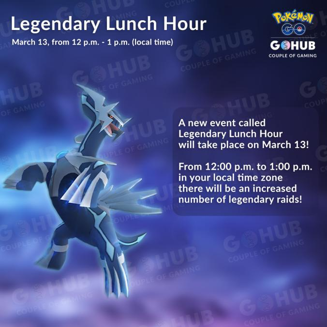 Legendary Lunch Hour